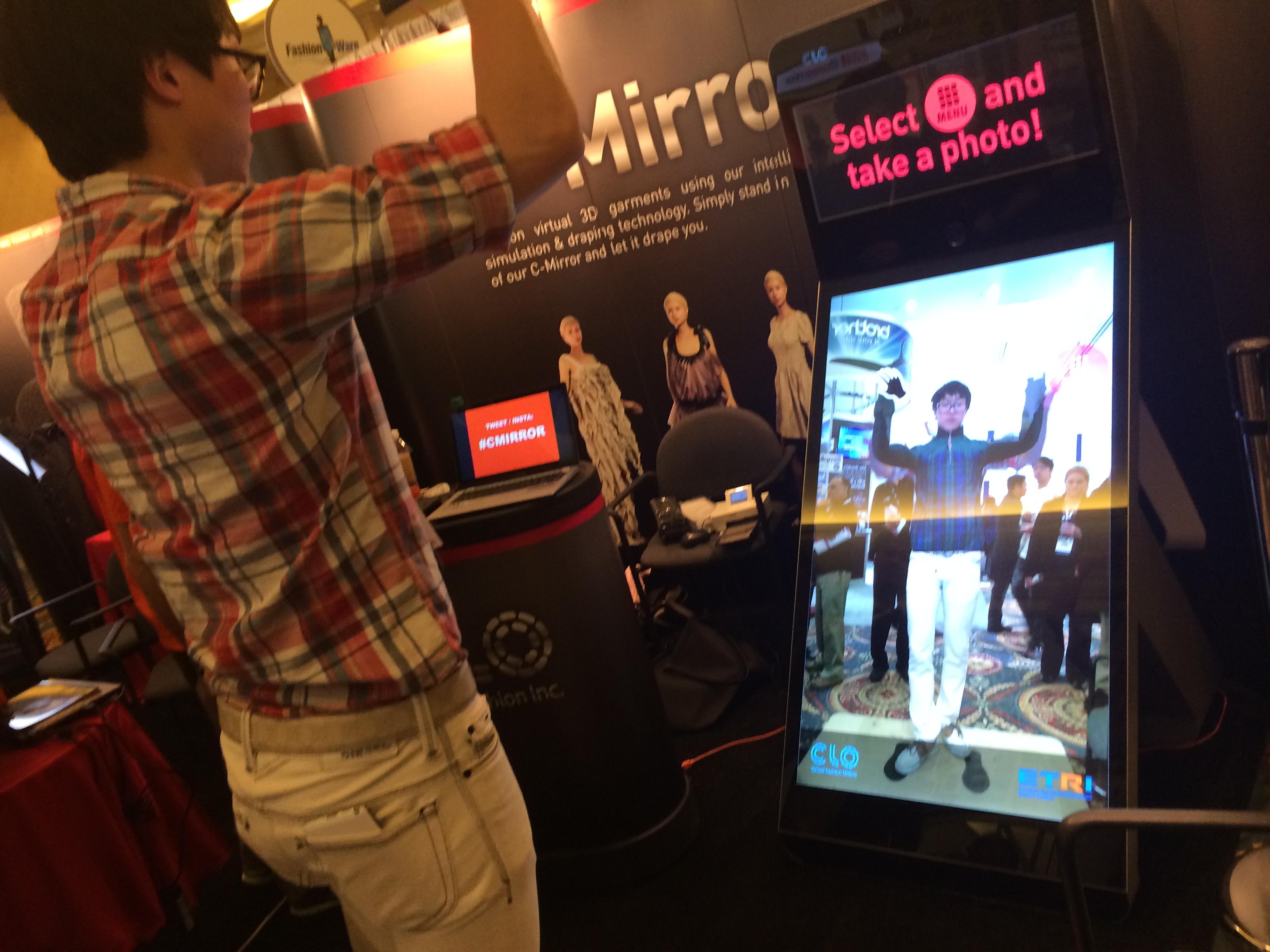 C Mirror CES 2014 Demo