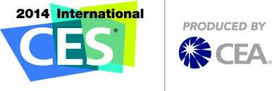 CES 2014 Logo White