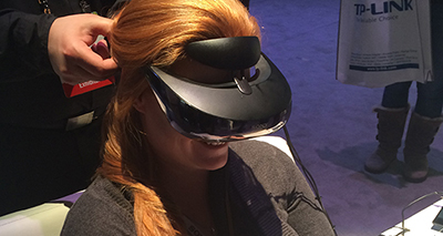 CES 2014 Day 3 – Central Hall VR and Stuff!
